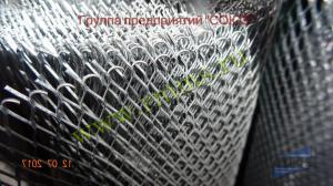 цельнометаллическая просечно вытяжная сетка цпвс